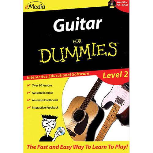 eMedia Music CD-Rom: Guitar For Dummies Level 2