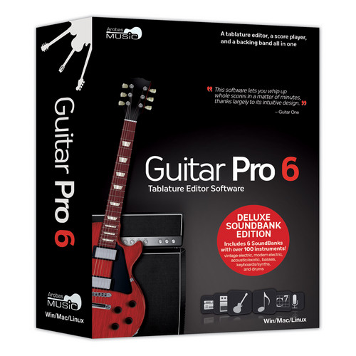 eMedia Music CD-Rom: Guitar Pro 6: Deluxe Soundbank Edition