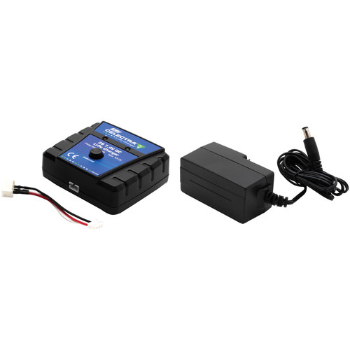 E-flite Celectra 2S 7.4V DC 700mAh LiPo Charger Kit with Power Supply