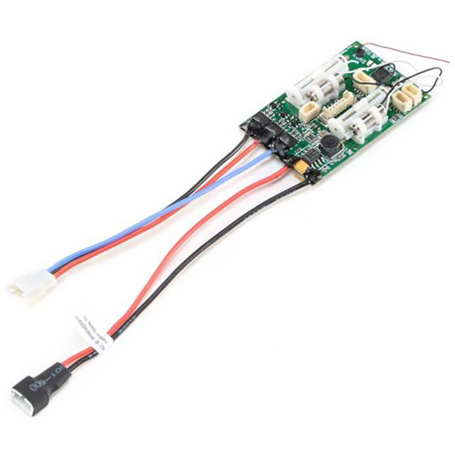 E-flite RX DSMX 6-Channel AS3X/Safe BL ESC for EFLU3950 UMX Timber BNF Basic Airplane