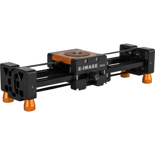 "E-Image ES35 Slider with 17.3"" Sliding Range and Adjustable Feet (13.8"")"