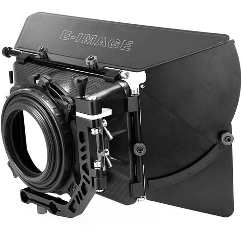 """E-Image 4X4"""" Carbon Fiber Swing-Away Matte Box"""