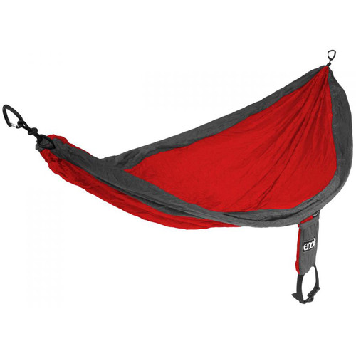 Eagles Nest Outfitters SingleNest Hammock (Red/Charcoal)