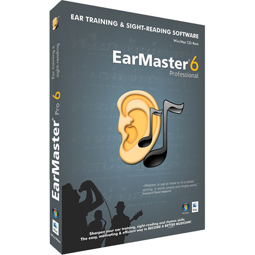 EarMaster EarMaster Pro 6 - Sight-Singing and Ear Training Software