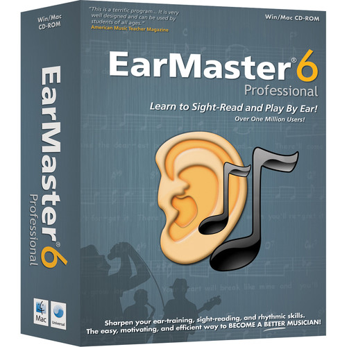 EarMaster Pro 6 - Sight-Singing and Ear Training Software (Download, Educational Version, 5 Station Lab)