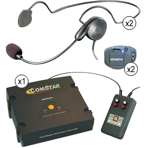 Eartec CPCYXTPLUS-2 XT-Plus Com-Center with Interface Module and Two Cyber Headset Kit