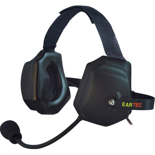 Eartec Xtreme Headset with Molded Cable for Compak Beltpack