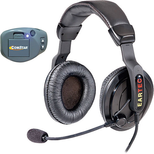 Eartec Compak Beltpack Transmitter and ProLine Double Headset Kit