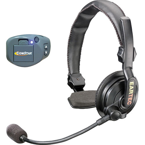 Eartec ComPak Beltpack Transmitter and Slimline Single Headset Kit