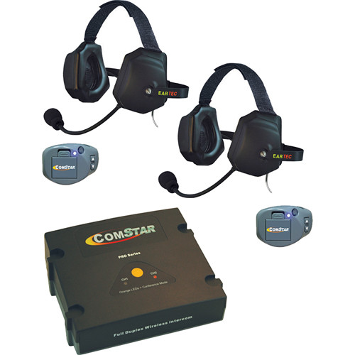 Eartec ComStar Com-Center Intercom Kit with 2 Beltpacks & 2 Xtreme Headsets
