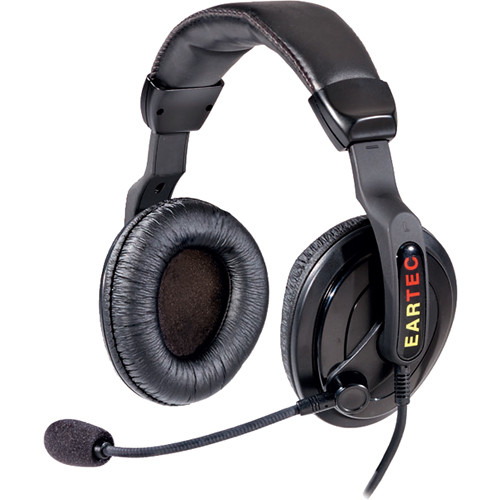 Eartec ProLine Double Headset for Compak Beltpack