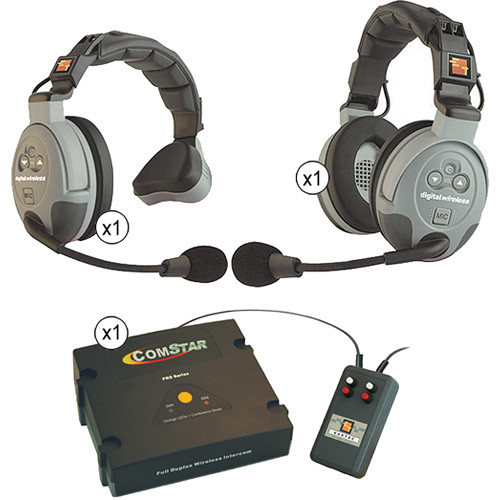 Eartec CSXTPLUS-2 XT-Plus Com-Center with Interface Module and Two ComStar Single Headset Kit