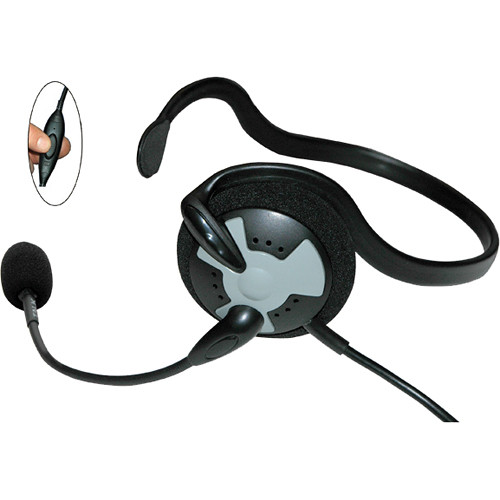Eartec Fusion Lightweight Headset with Inline PTT for MC-1000 Radio