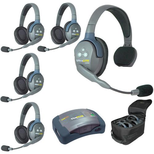 Eartec HUB514AU UltraLITE 5-Person HUB Intercom System (AU)