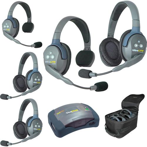 Eartec HUB523 UltraLITE 5-Person HUB Intercom System (USA)
