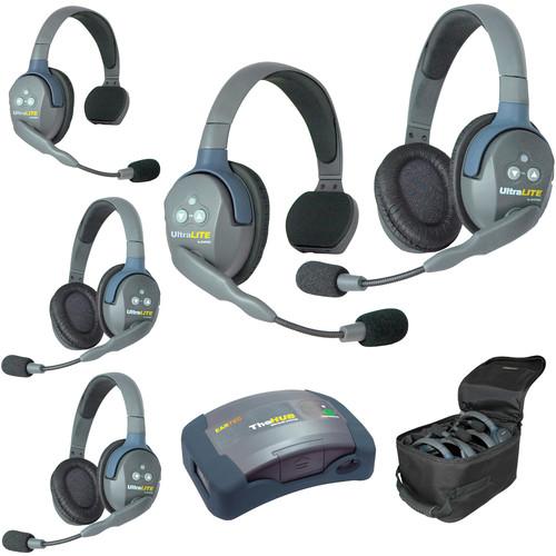 Eartec HUB523AU UltraLITE 5-Person HUB Intercom System (AU)