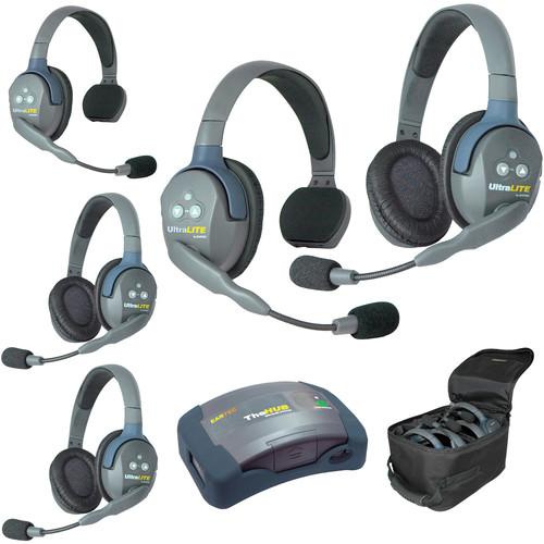 Eartec HUB523EU UltraLITE 5-Person HUB Intercom System (EU)