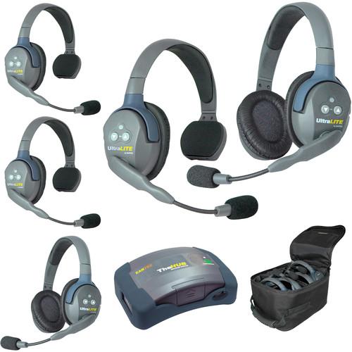 Eartec HUB532AU UltraLITE 5-Person HUB Intercom System (AU)