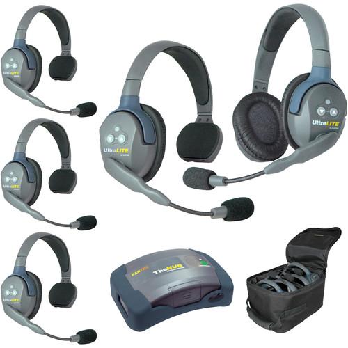 Eartec HUB541AU UltraLITE 5-Person HUB Intercom System (AU)