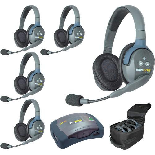 Eartec HUB5D UltraLITE 5-Person HUB Intercom System (USA)