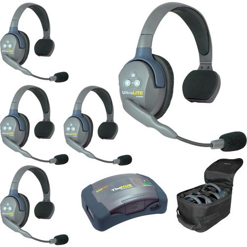 Eartec HUB5S UltraLITE 5-Person HUB Intercom System (USA)