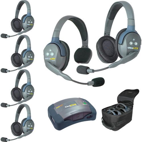 Eartec HUB615 UltraLITE 6-Person HUB Intercom System (USA)