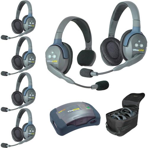 Eartec HUB615AU UltraLITE 6-Person HUB Intercom System (AU)
