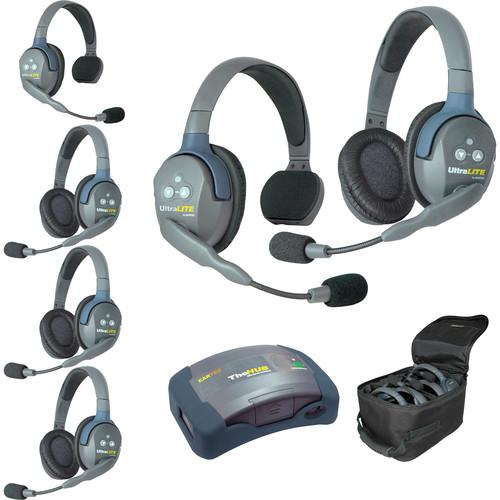 Eartec HUB624 UltraLITE 6-Person HUB Intercom System (USA)