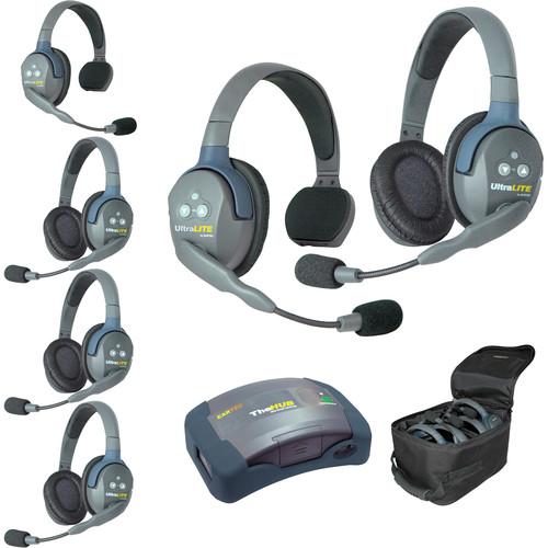 Eartec HUB624AU UltraLITE 6-Person HUB Intercom System (AU)