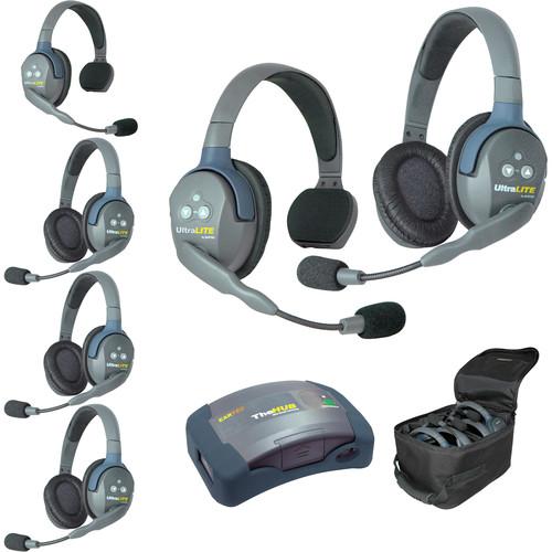 Eartec HUB624EU UltraLITE 6-Person HUB Intercom System (EU)