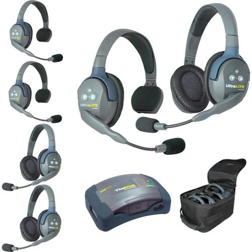 Eartec HUB633 UltraLITE 6-Person HUB Intercom System (USA)