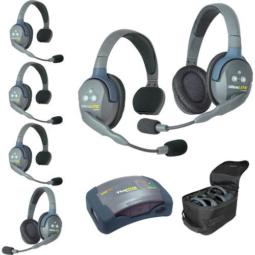 Eartec HUB642AU UltraLITE 6-Person HUB Intercom System (AU)