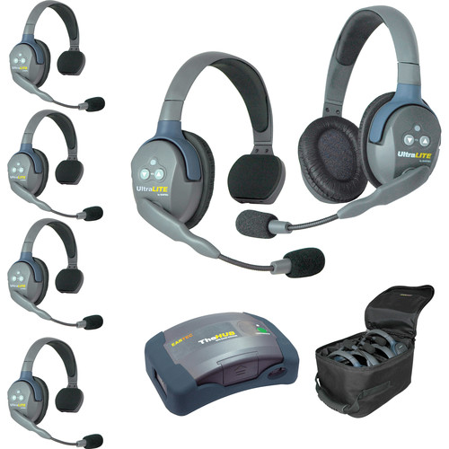 Eartec HUB651 UltraLITE 6-Person HUB Intercom System (USA)