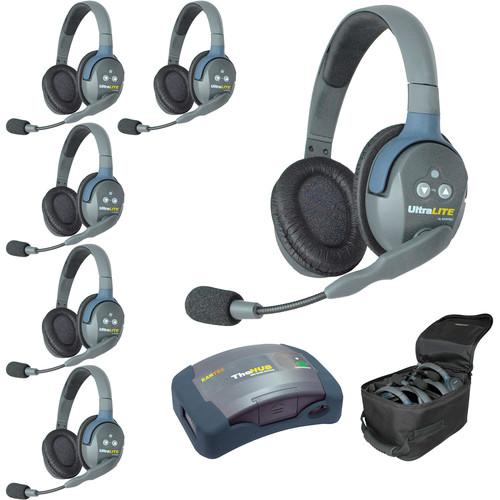 Eartec HUB6DAU UltraLITE 6-Person HUB Intercom System (AU)