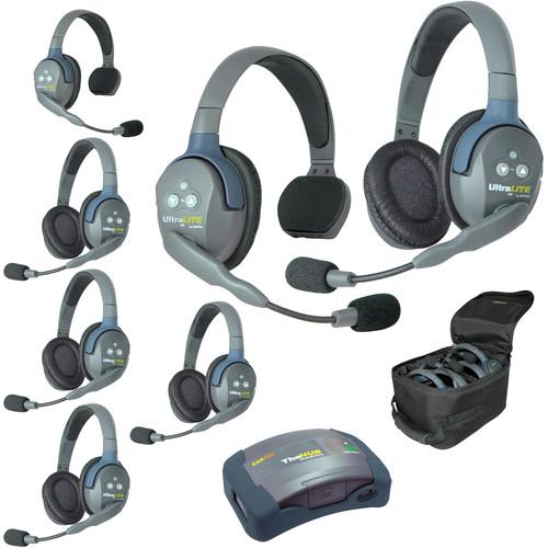 Eartec HUB725 UltraLITE 7-Person HUB Intercom System (USA)