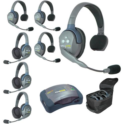Eartec HUB743 UltraLITE 7-Person HUB Intercom System (USA)