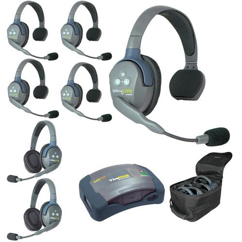 Eartec HUB752 UltraLITE 7-Person HUB Intercom System (USA)