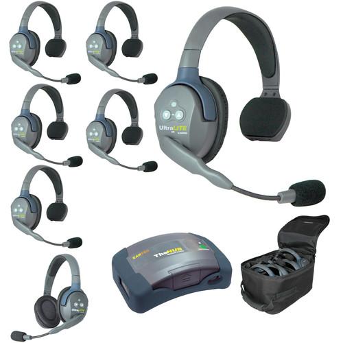 Eartec HUB761 UltraLITE 7-Person HUB Intercom System (USA)