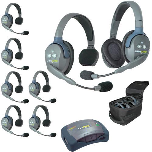 Eartec HUB871 UltraLITE 8-Person HUB Intercom System (USA)