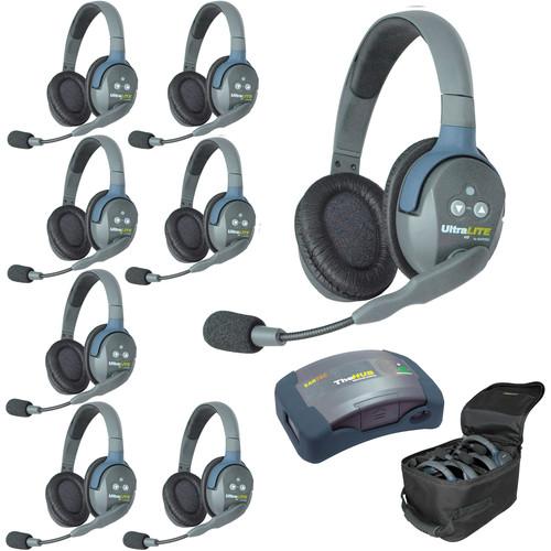 Eartec HUB8D UltraLITE 8-Person HUB Intercom System (USA)