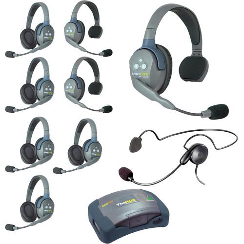 Eartec HUB935CYB UltraLITE 9-Person HUB Intercom System with Cyber Headset (USA)