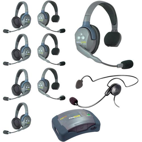 Eartec HUB944CYB UltraLITE 9-Person HUB Intercom System with Cyber Headset (USA)