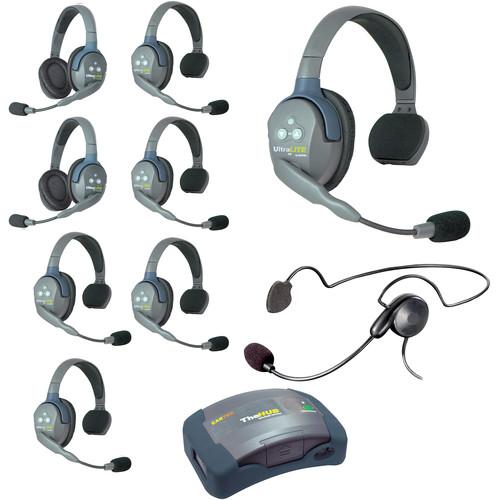 Eartec HUB962CYB UltraLITE 9-Person HUB Intercom System with Cyber Headset (USA)
