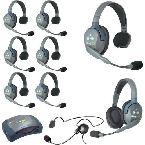 Eartec HUB971CYB UltraLITE 9-Person HUB Intercom System with Cyber Headset (USA)