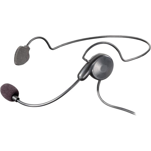 Eartec Cyber Lightweight Plug-In Headset with Back Band for UltraLITE HUB Intercom System