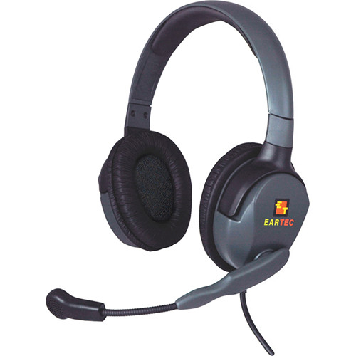 Eartec Max 4G Double Headset with Dual 3.5-2.5mm Connectors