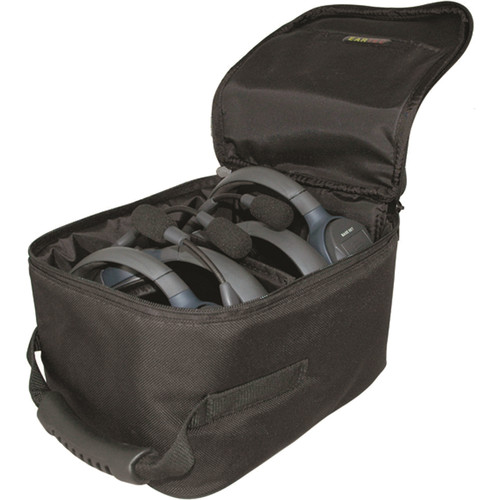 Eartec Large Soft Padded Case for Select Hub Series Headset Systems