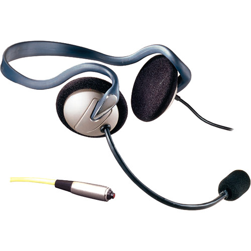 Eartec Monarch Headset with Inline PTT for MC-1000 Radio