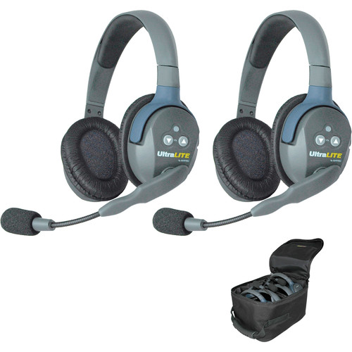 Eartec UL2DAU UltraLITE 2-Person Headset System (AU)