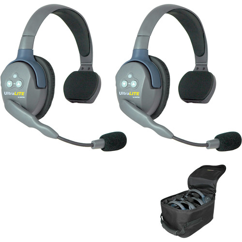 Eartec UL2SAU UltraLITE 2-Person Headset System (AU)